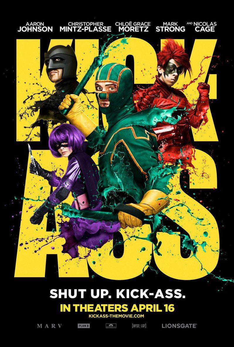 <strong><em>Kick-Ass</em></strong> Poster