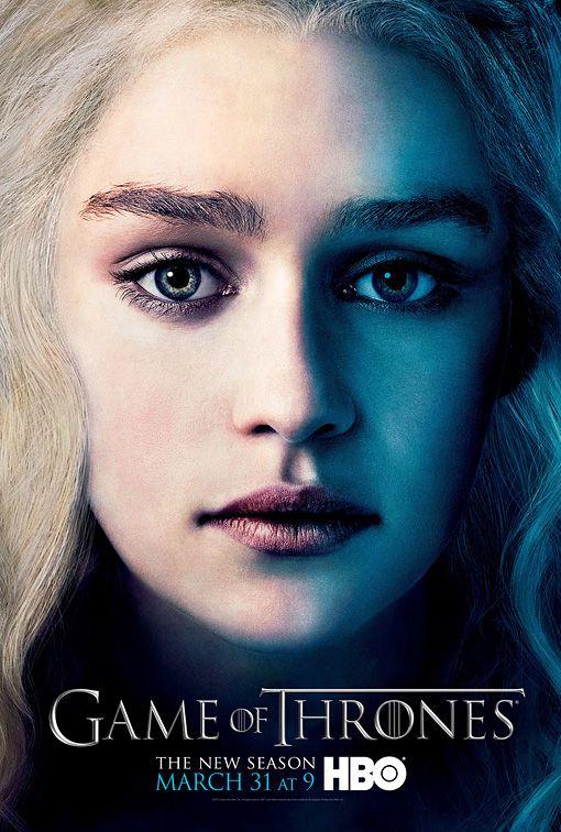 <strong><em>Game of Thrones</em></strong> Daenerys Targaryen Character Poster