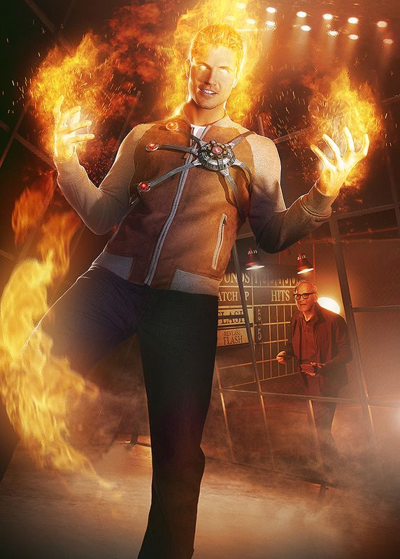 <strong><em>The Flash</em></strong> Firestorm Superhero Fight Club Poster