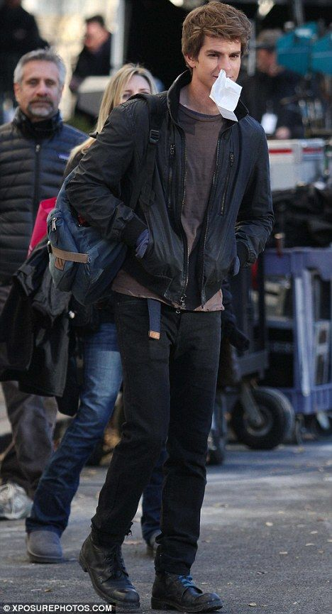 <strong><em>The Amazing Spider-Man</em></strong> NYC Set Photo #6