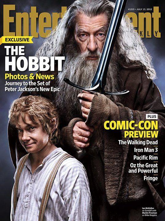 The Hobbit EW cover