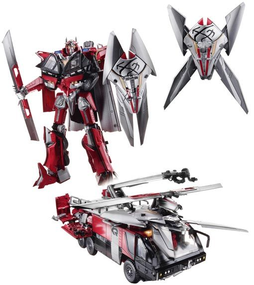 <strong><em>Transformers: Dark of the Moon</em></strong> Sentinel Prime Toy Photo