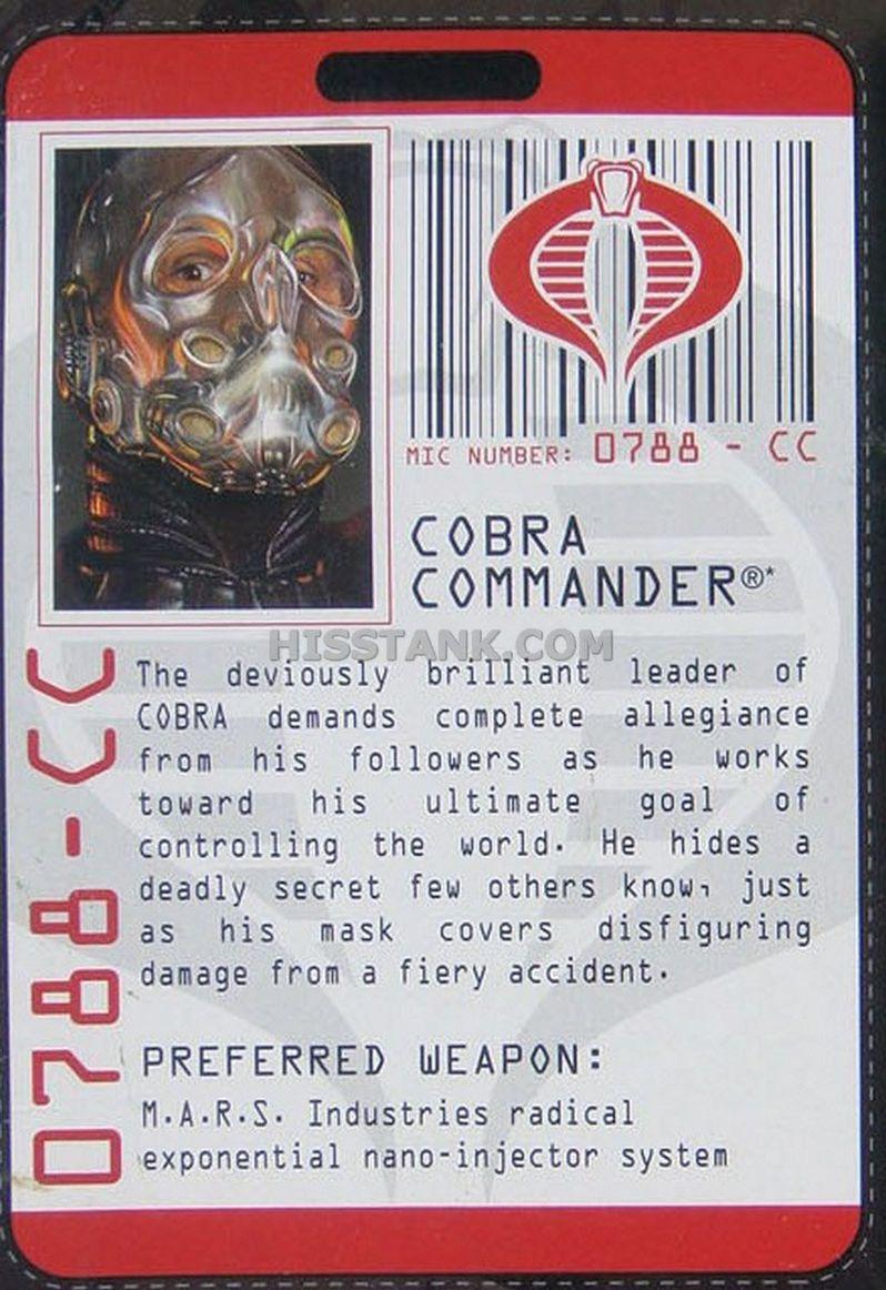 G.I. Joe's Cobra Commander Action Figure #2