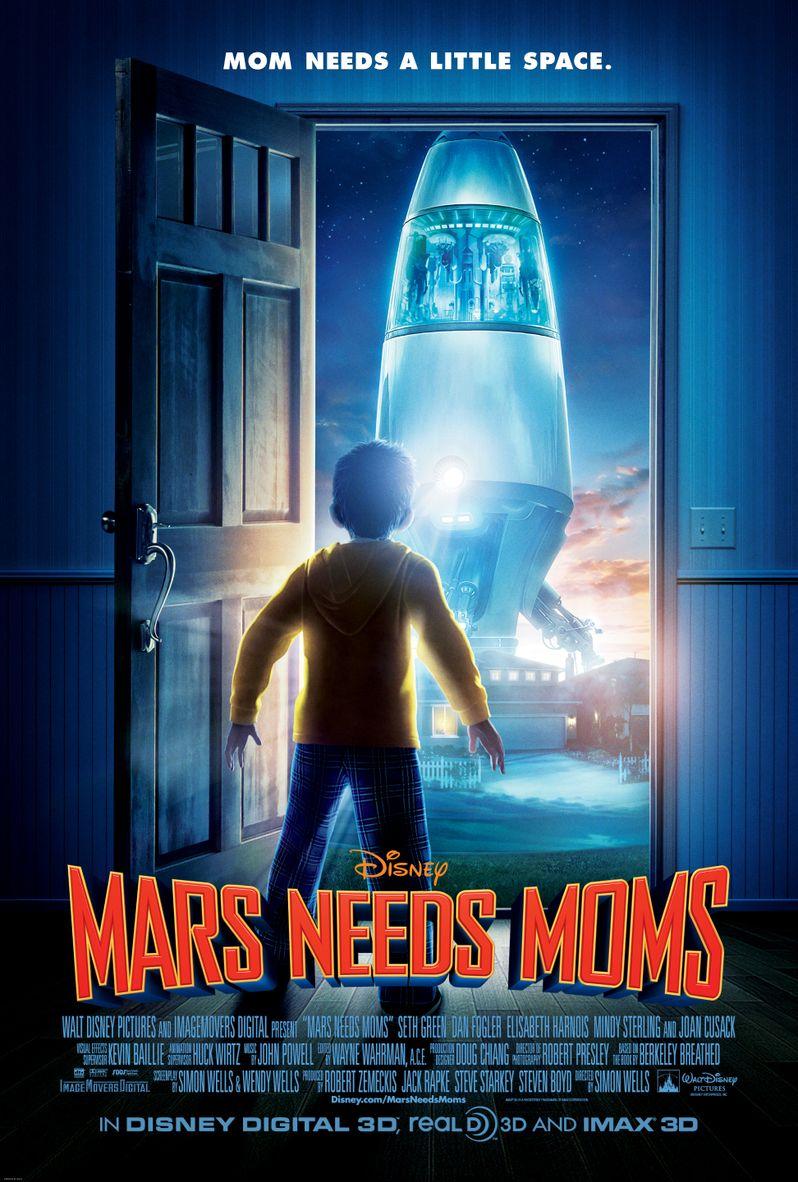 <strong><em>Mars Needs Moms</em></strong> Poster