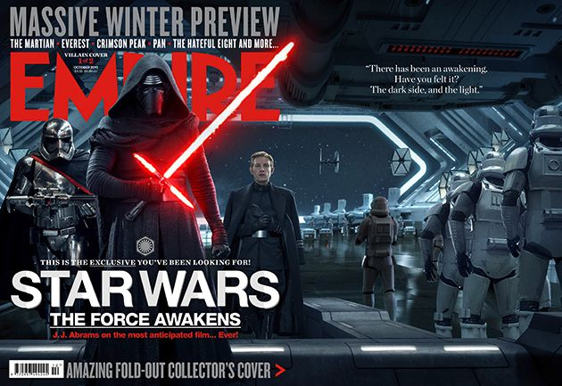 Star Wars Force Awakens Empire Cover