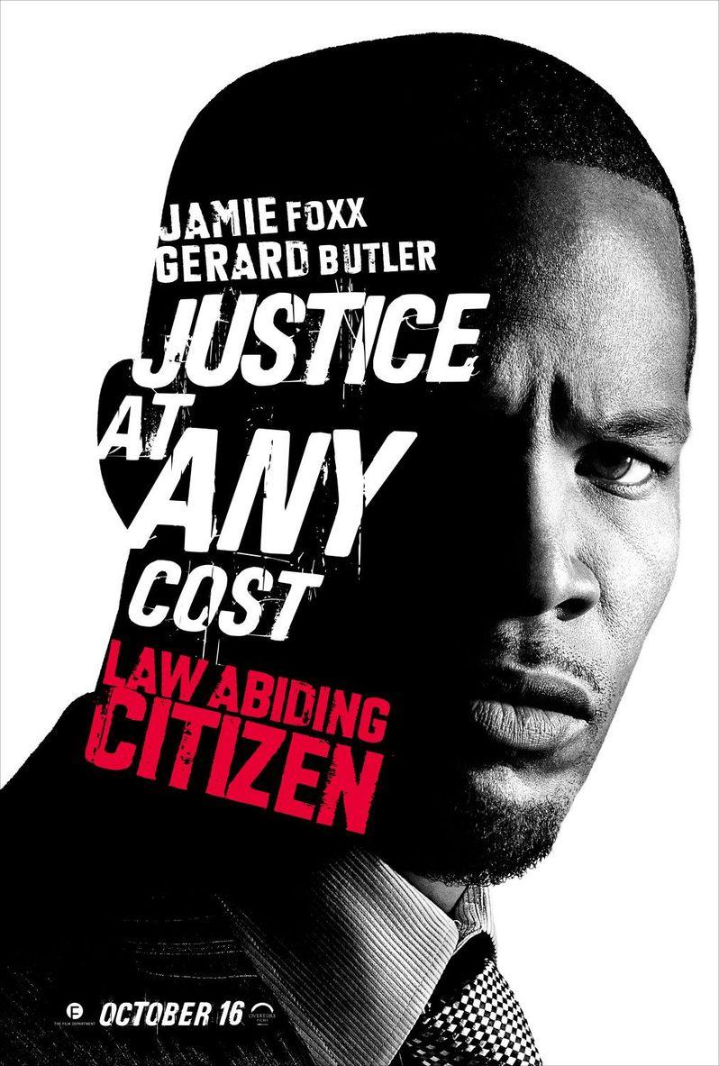 <strong><em>Law Abiding Citizen</em></strong> Jamie Foxx Poster