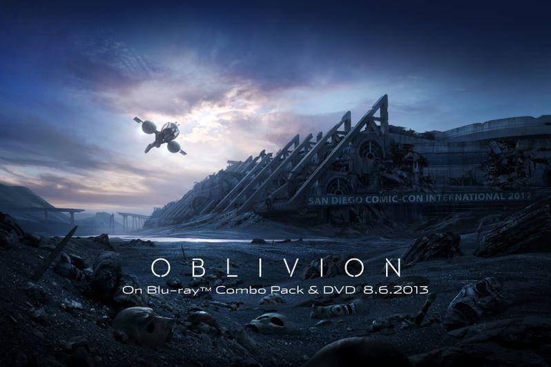 <strong><em>Oblivion</em></strong> Comic-Con 2013 Artwork