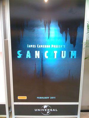 <strong><em>Sanctum</em></strong> Poster