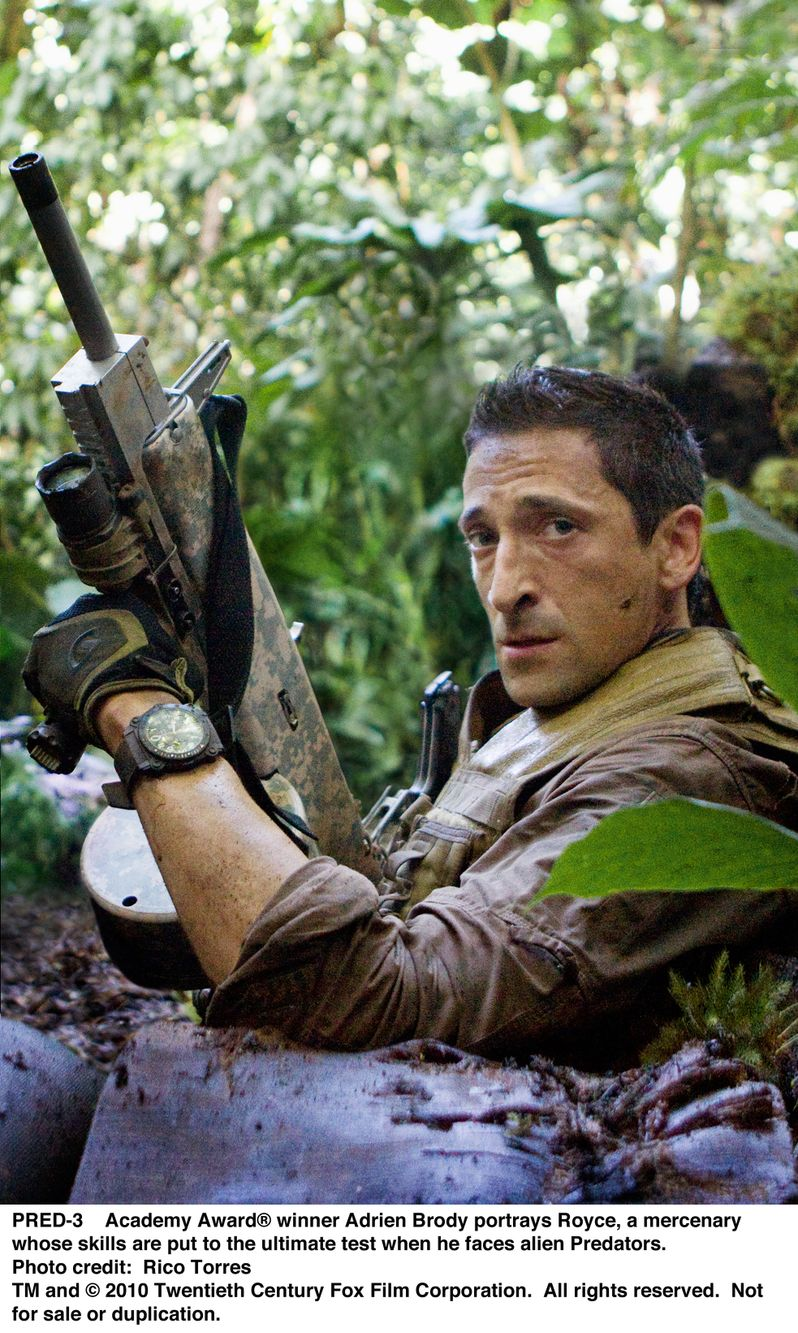 Adrien Brody in <strong><em>Predators</em></strong>