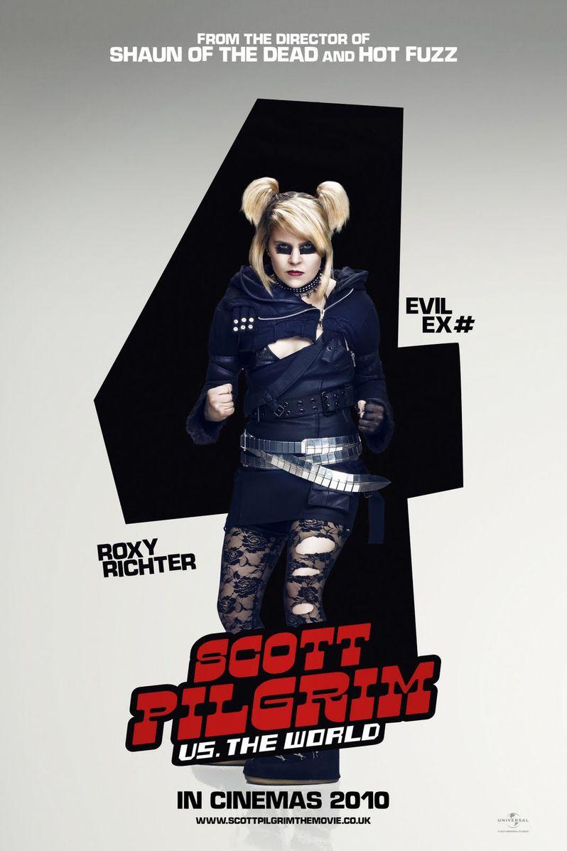 <strong><em>Scott Pilgrim Vs. the World</em></strong> Mae Whitman Character Poster