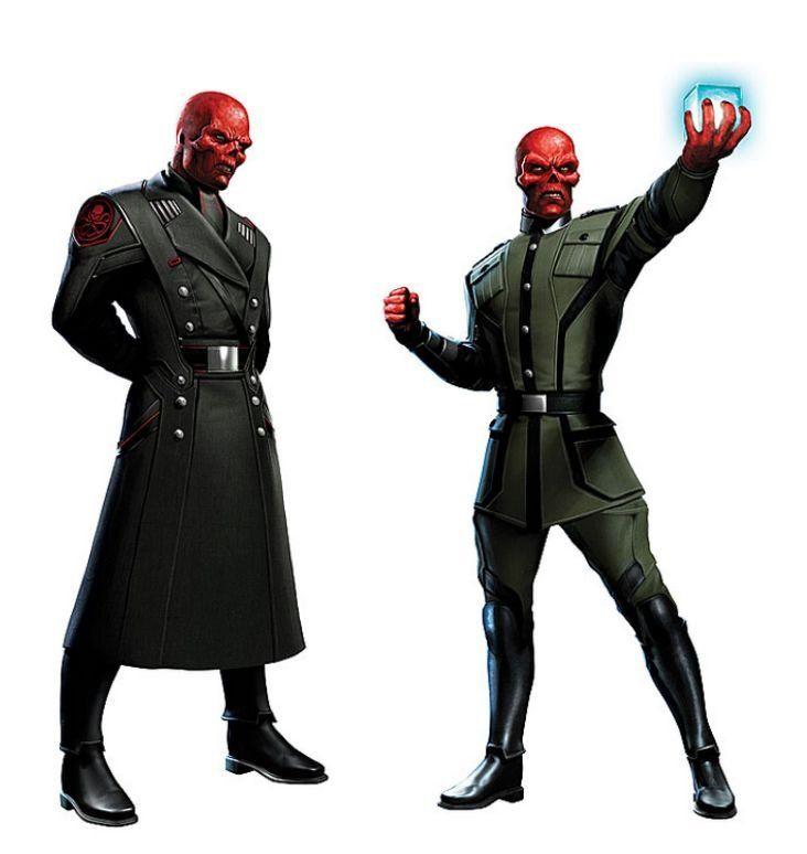 Captain America Red Skull Concept Art