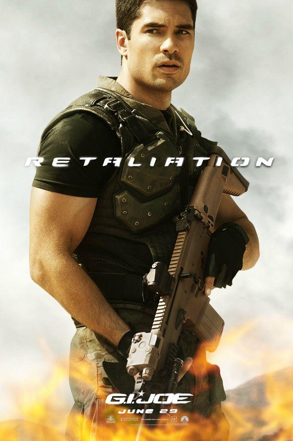 <strong><em>G.I. Joe Retaliation</em></strong> Flint Character Poster
