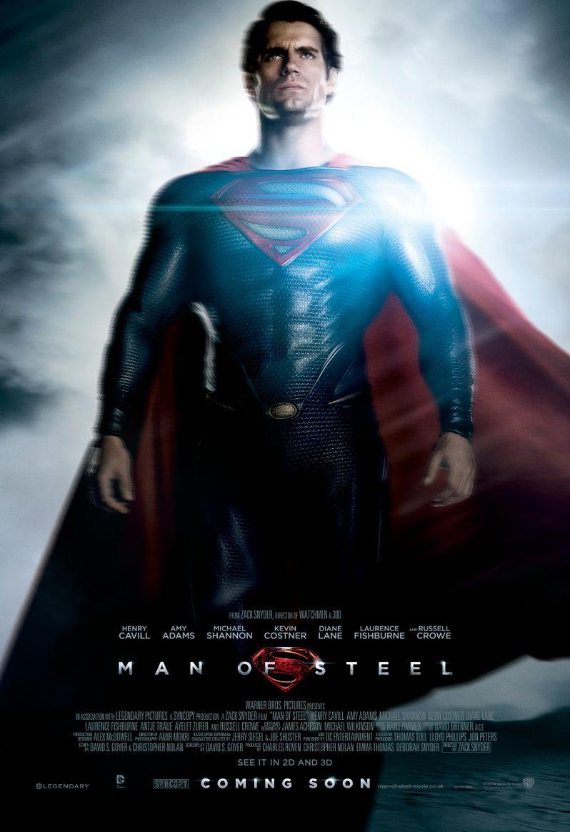 <strong><em>Man of Steel</em></strong> Poster #1