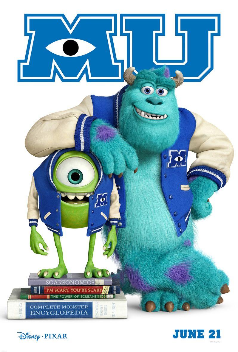 <strong><em>Monsters University</em></strong> Poster