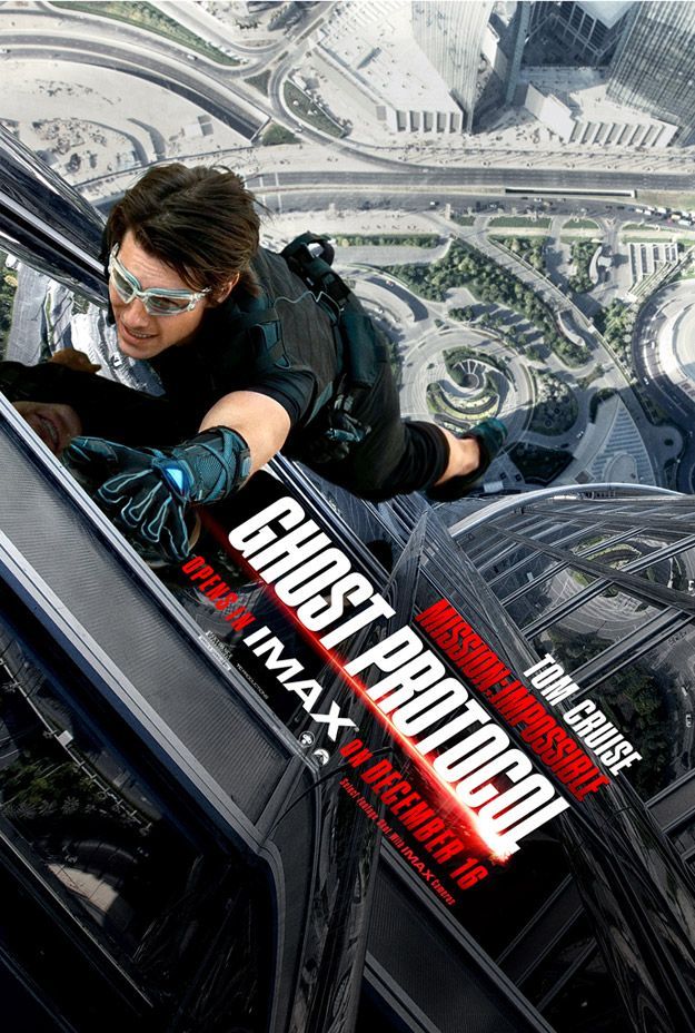 <strong><em>Mission: Impossible Ghost Protocol</em></strong> Poster #2