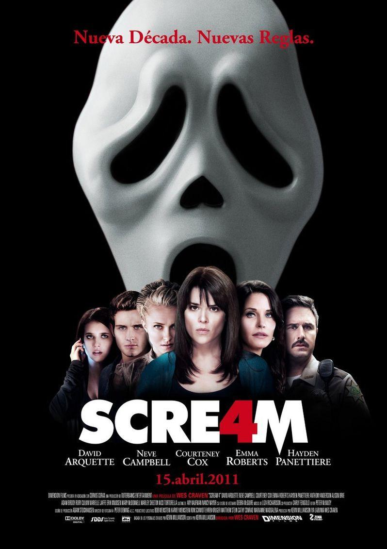 <strong><em>Scream 4</em></strong> International Poster