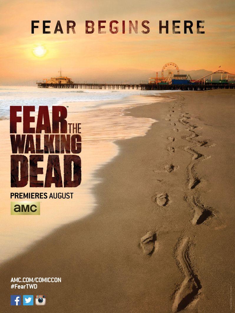 <strong><em>Fear the Walking Dead</em></strong> poster