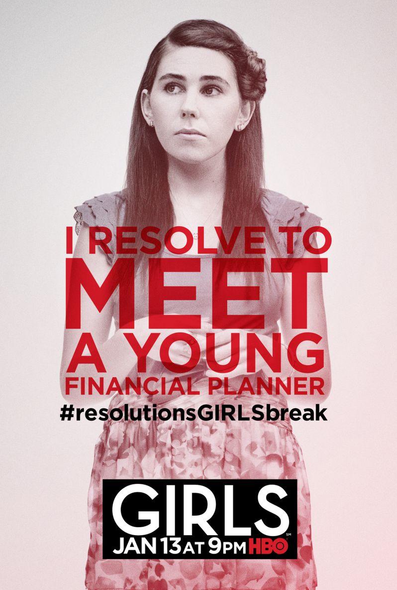 <strong><em>Girls</em></strong> Season 2 Poster 5