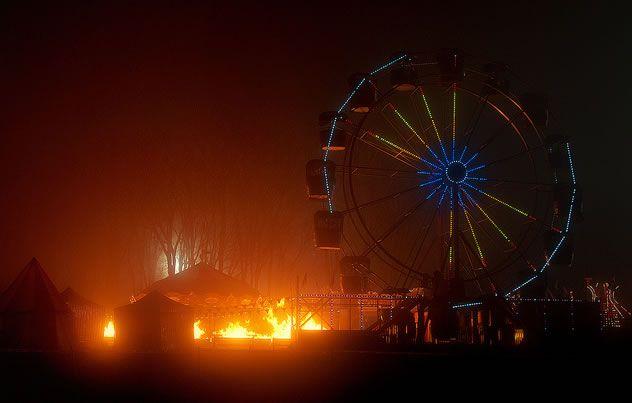 Silent Hill: Revelations 3D Amusement Park Set Photo #4
