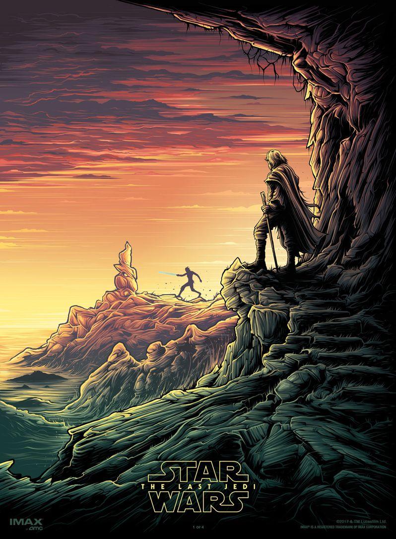 <strong><em>Star Wars: The Last Jedi</em></strong> IMAX Poster