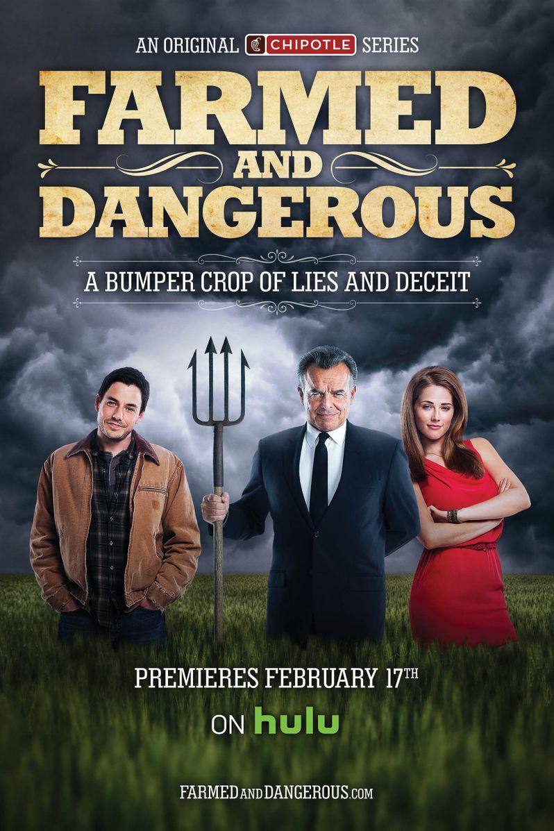 <strong><em>Farmed and Dangerous</em></strong> Poster