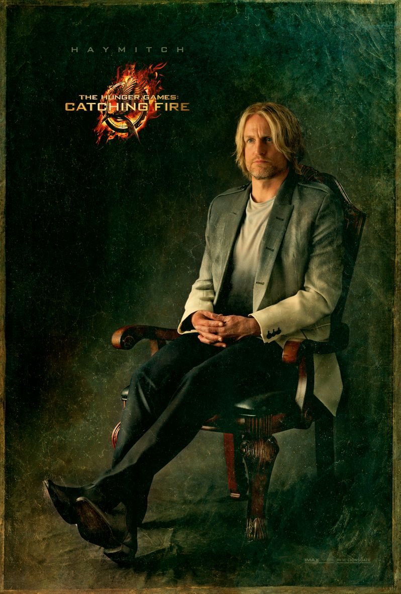 <strong><em>The Hunger Games: Catching Fire</em></strong> Haymitch Abernathy Capitol Portrait