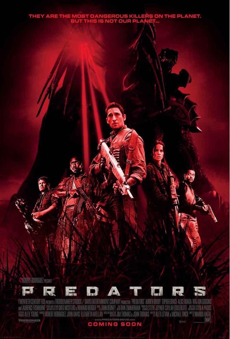 <strong><em>Predators</em></strong> International Poster #2
