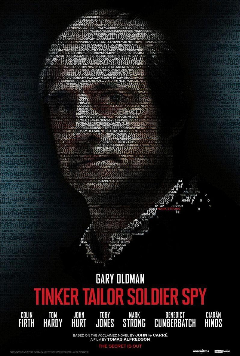 <strong><em>Tinker, Tailor, Soldier, Spy</em></strong> Mark Strong Poster