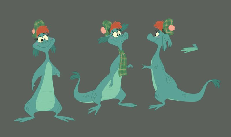 <strong><em>The Ballad of Nessie</em></strong> Concept Art Photo #1