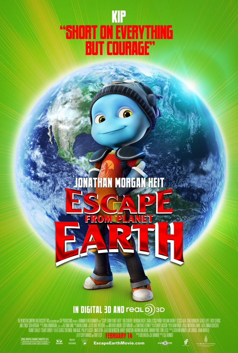 Escape From Planet Earth Kip Character Poster