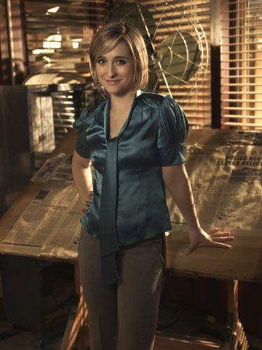 Allison Mack as Chloe Sullivan