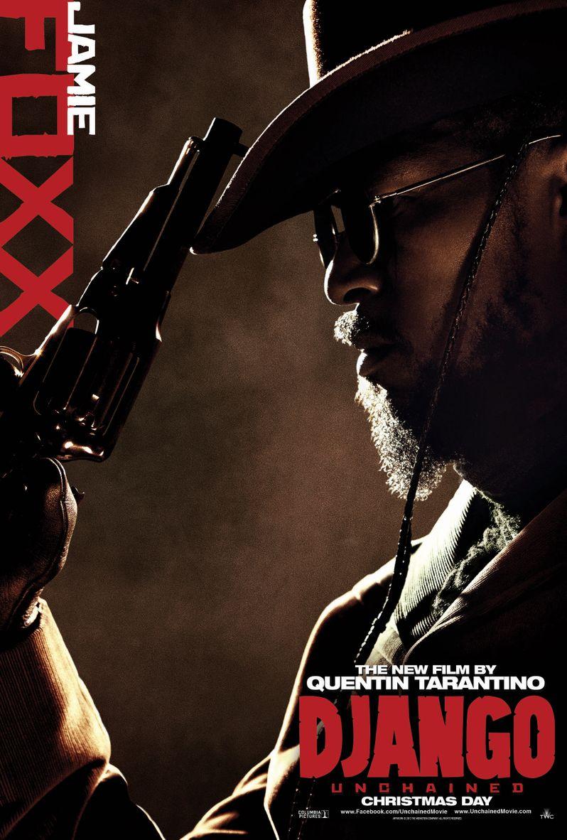 <strong><em>Django Unchained</em></strong> Jamie Foxx Poster
