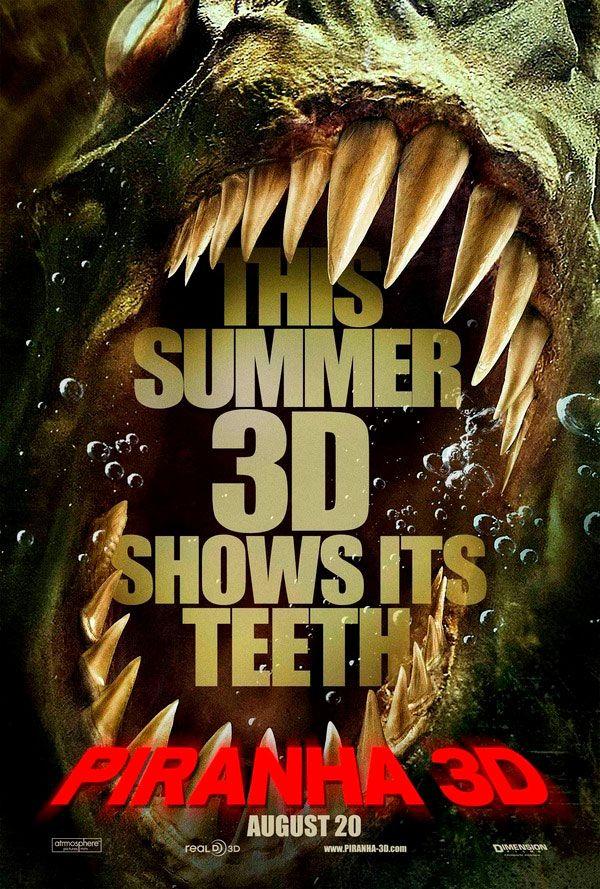 <strong><em>Piranha 3D</em></strong> Poster #3