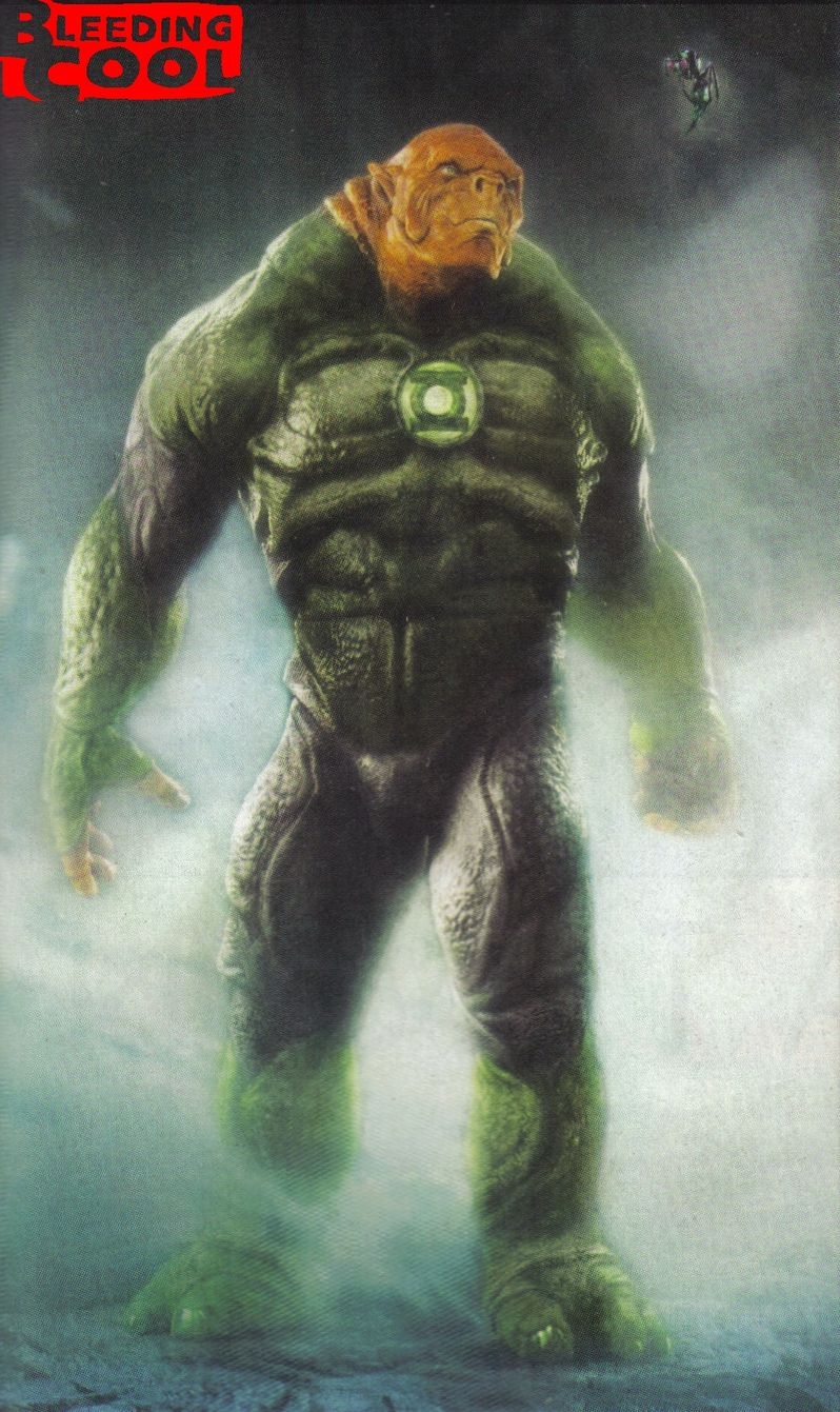 <strong><em>Green Lantern</em></strong> Kilowog Photo #1