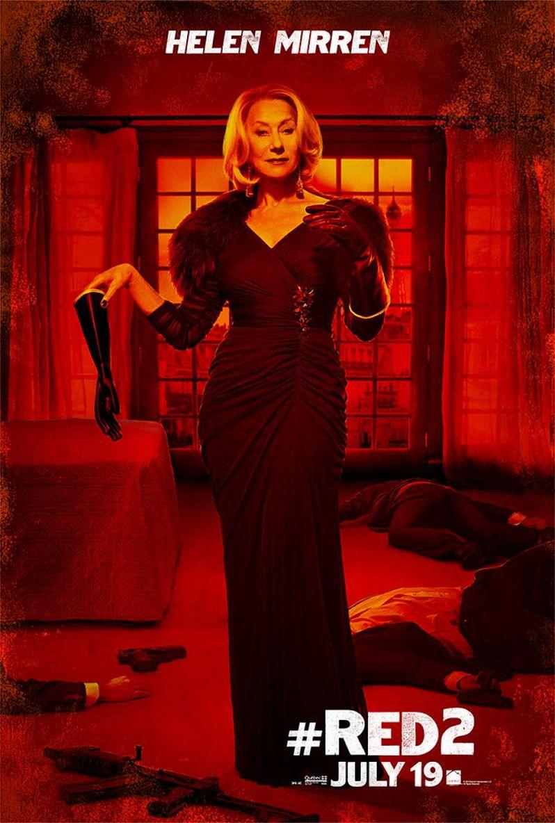 <strong><em>Red 2</em></strong> Helen Mirren Poster