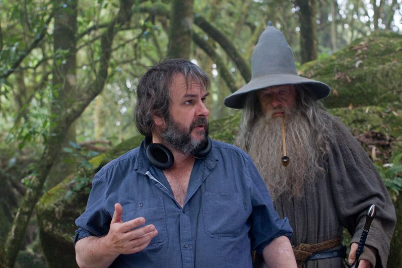 Set Visit: <strong><em>The Hobbit: An Unexpected Journey</em></strong> Part 3: Peter Jackson and Andy Serkis