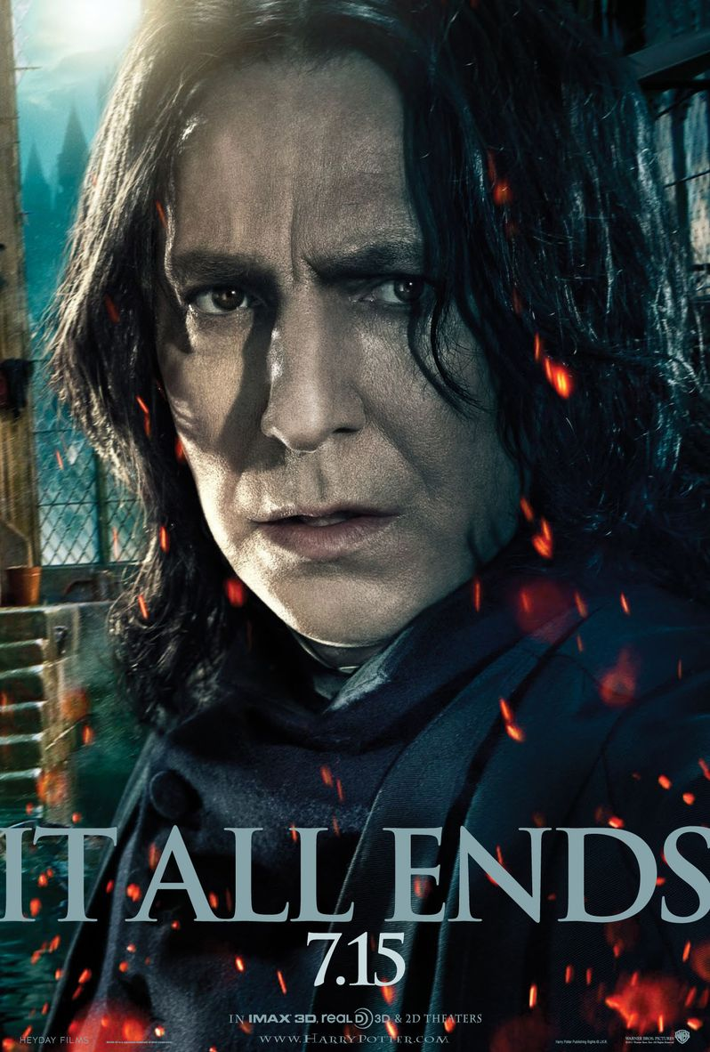 <strong><em>Harry Potter and the Deathly Hallows - Part 2</em></strong> Severus Snape Poster