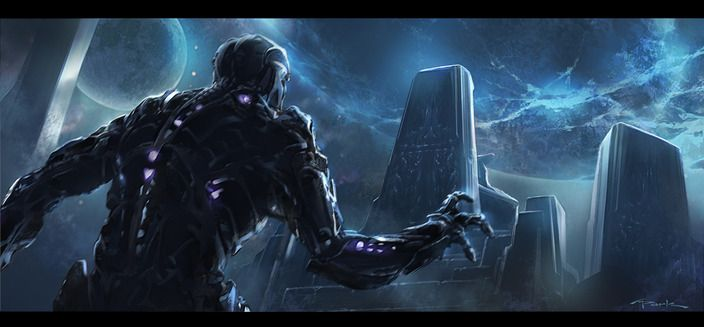 Thanos Concept Art <strong><em>Marvel's The Avengers</em></strong> 3