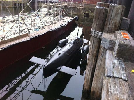 <strong><em>Captain America: The First Avenger</em></strong> Submarine Photo #2