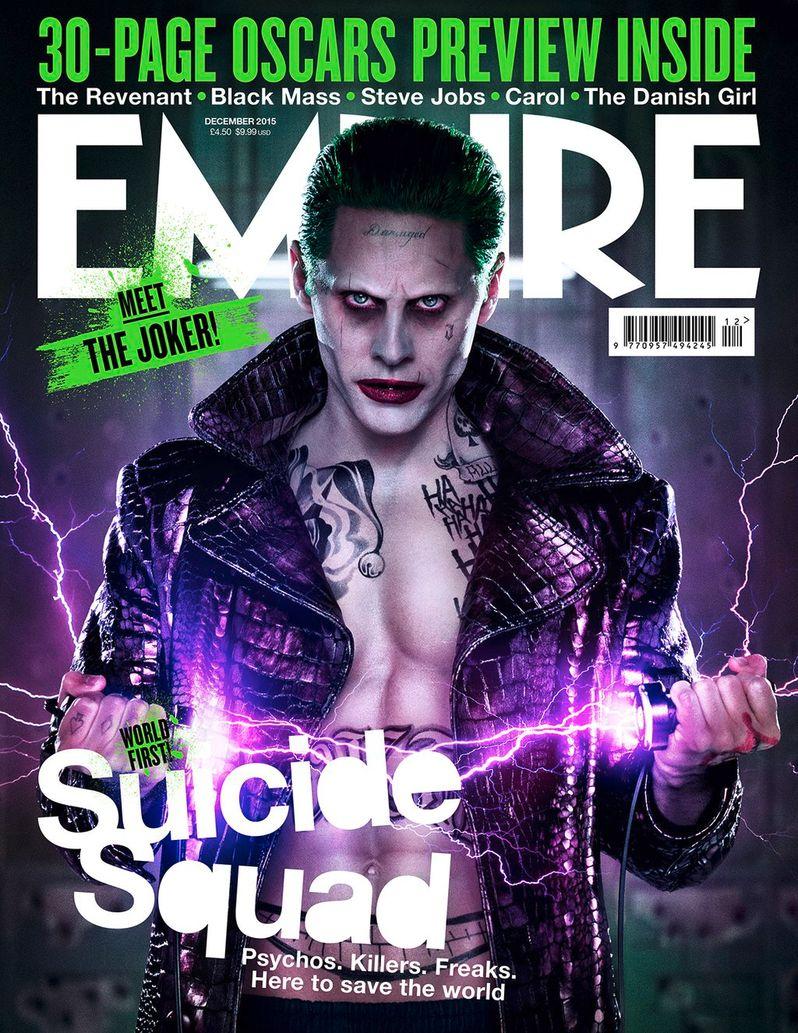 <strong><em>Suicide Squad</em></strong> Joker Magazine Cover