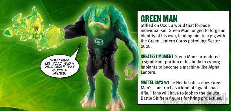 <strong><em>Green Lantern</em></strong> Green Man Action Figure