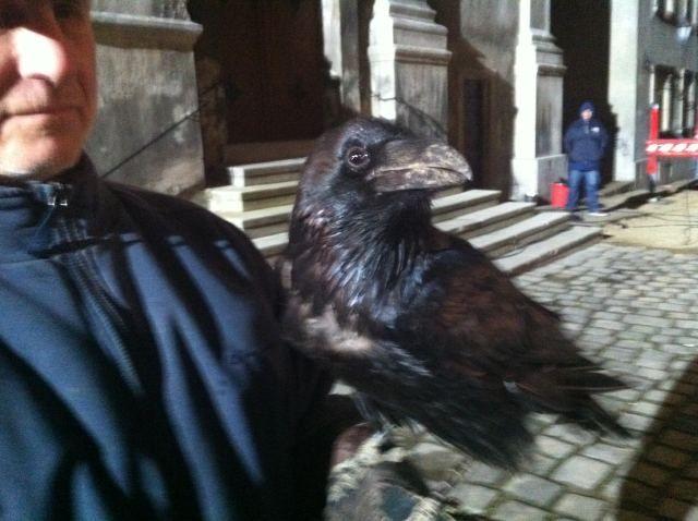 <strong><em>The Raven</em></strong> Set Photo