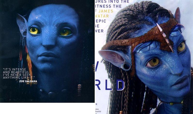 Zoe Saldana as Na'vi