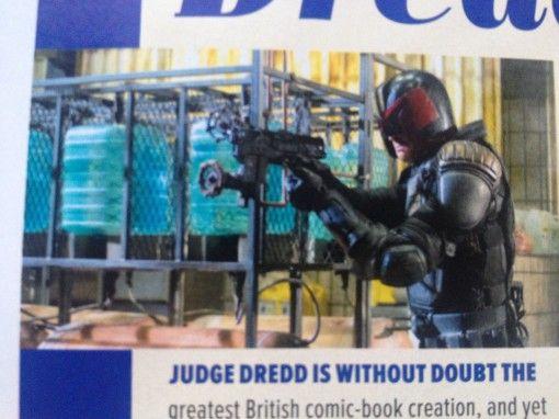 Dredd Empire Magazine Photo