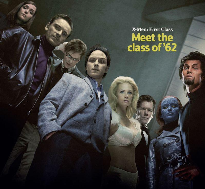 X-Men First Class Meet the Class of 62