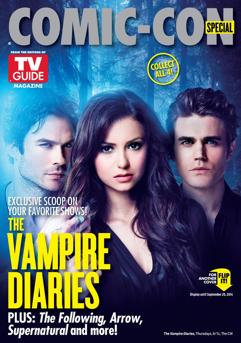 Vampire Diaries TV Guide Comic Con Cover