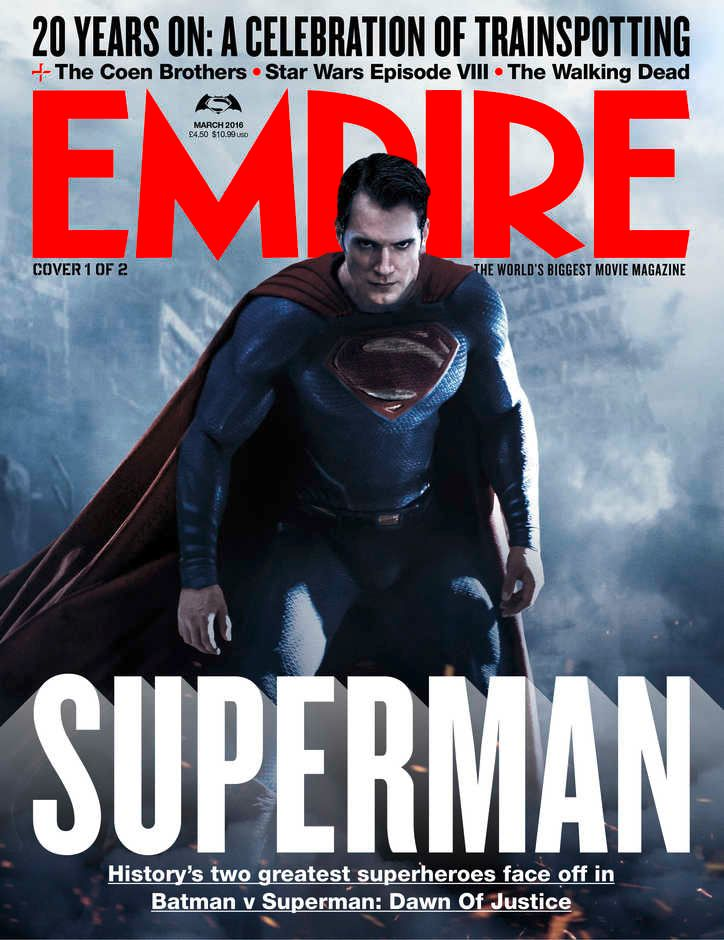 Batman v Superman Empire Cover 1