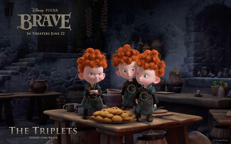 <strong><em>Brave</em></strong> The Triplets Desktop