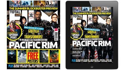 <strong><em>Pacific Rim</em></strong> Total Film Magazine Cover