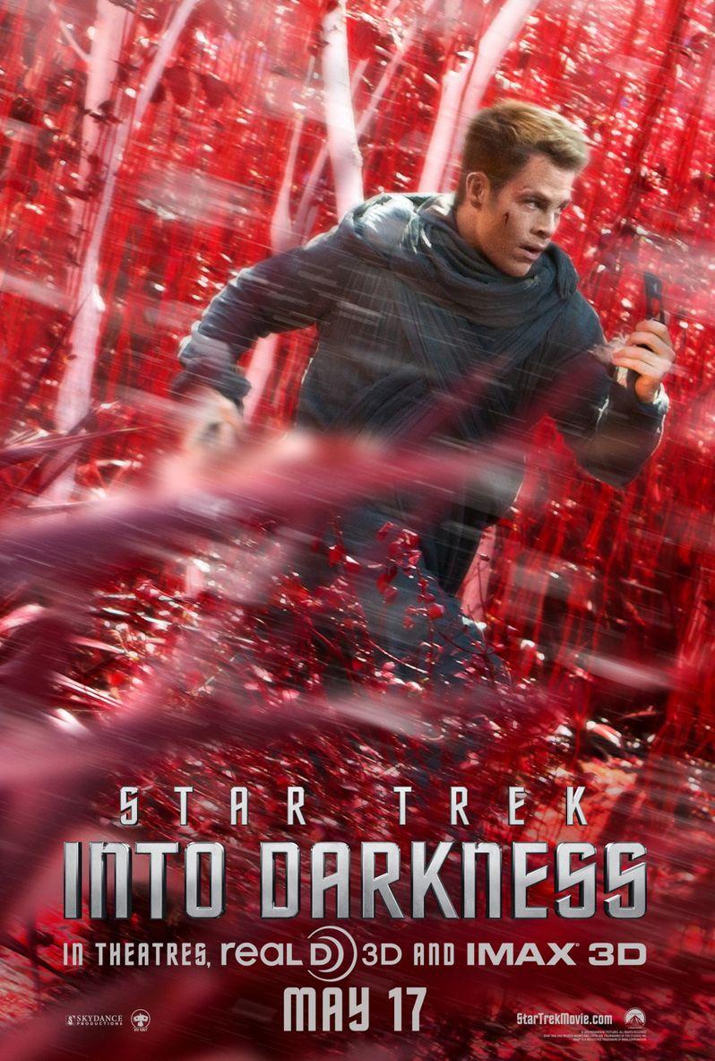 <strong><em>Star Trek Into Darkness</em></strong> Captain Kirk Character Poster